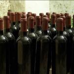 Dégustation à l'aveugle, bouteilles sans étiquette